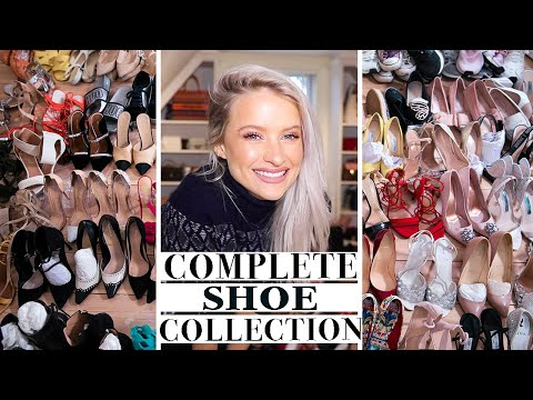 150 DESIGNER SHOE COLLECTION IN MY NEW CLOSET   INTHEFROW