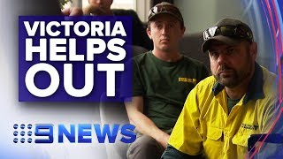 Victoria sending reinforcements to fire zones   Nine News Australia