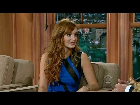 Ahna OReilly on Craig Ferguson Late Late Show, FULL interview