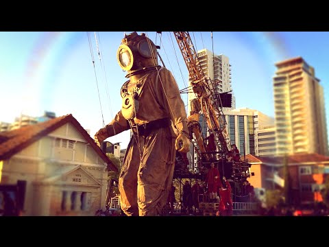 The Giants came to Perth! Incredible Journey of The Giants, Perth International Arts Festival 2015