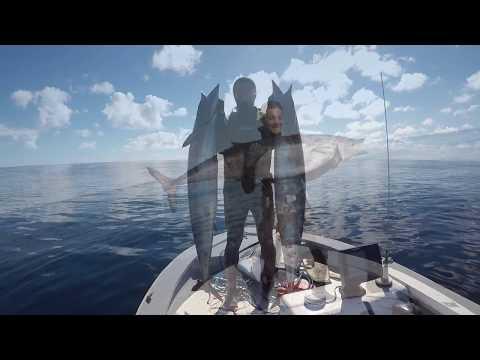October 2017, Sunshine vibes, spearfishing Norfolk Island, Wahoo/Ono