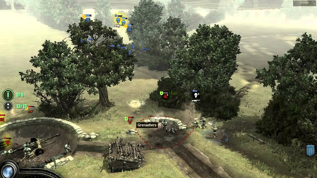 Brecourt Manor In Company Of Heroes