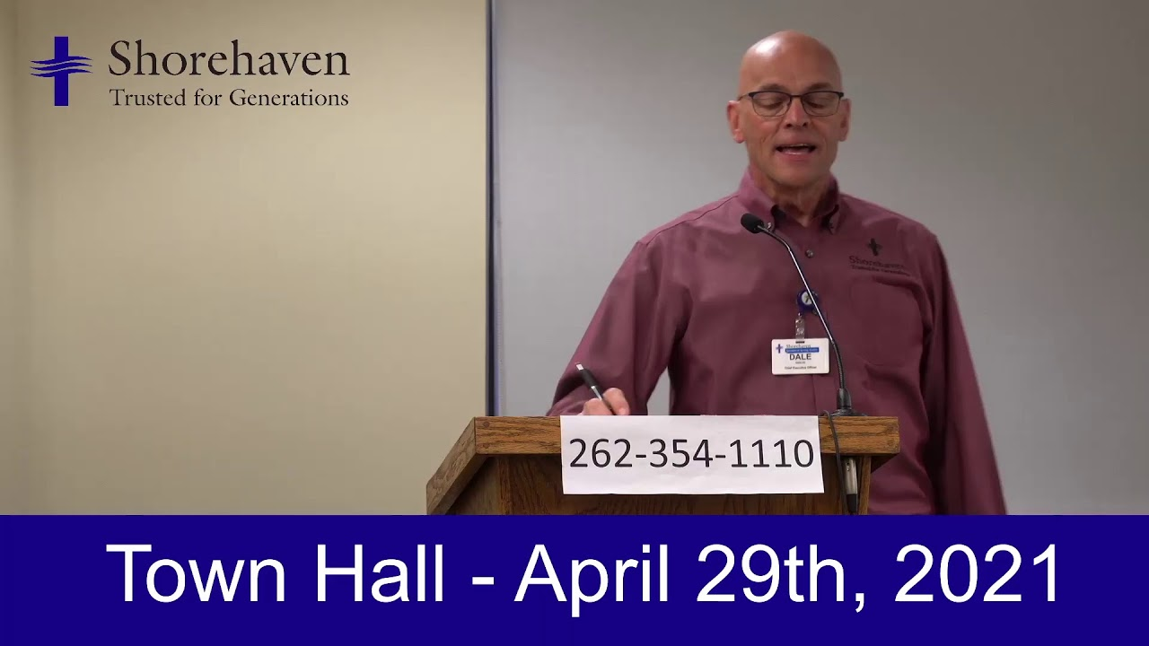 Town Hall 4-29-21