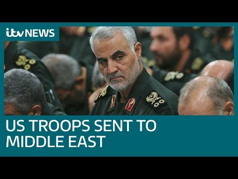 Troops Sent To Middle East After US Killing Of Iranian General Qassem Soleimani | ITV News
