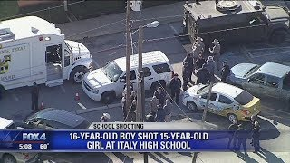 Teen breakup may be to blame for Italy Texas High School shooting