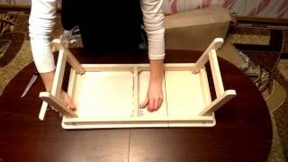 Кроватный столик для ноутбука / завтрака (обзор)