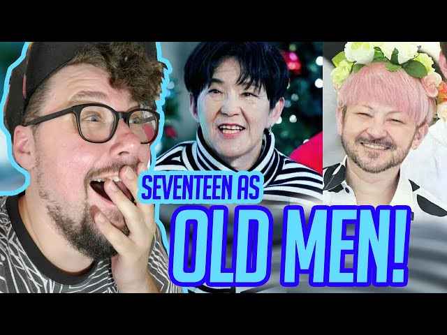 Mikey Reacts to SEVENTEEN AS OLD MEN!!!