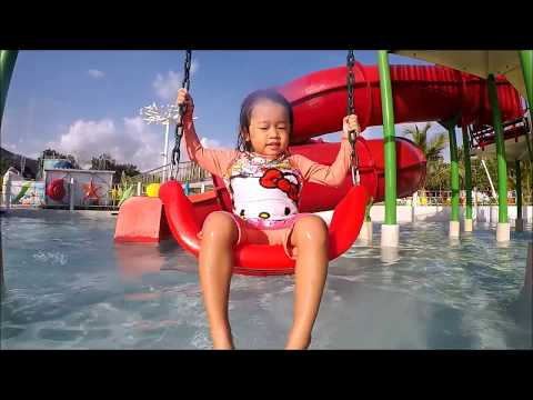 Water Park Slides and Playground, Palawan Waterpark Family Fun - Donna The Explorer