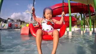 Water Park Slides and Playground, Palawan Waterpark Family Fun - Donna The Explorer thumbnail