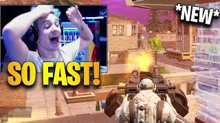Ninja First Time Using *NEW* Mounted Turret! | Fortnite Highlights & Funny Moments