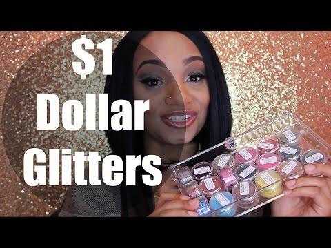 $1 Dollar Glitter Haul + Swatches