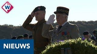 Herdenking Franse commando's Wassenaar - OMROEP WEST