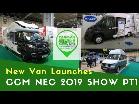 New Motorhome Launches | Caravan Camping And Motorhome Show NEC 2019 Pt1
