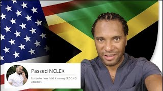 How I Passed the NCLEX on my SECOND Attempt | Patrick from Jamaica
