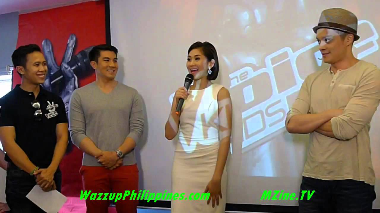 The Voice Kids Grand Presscon with Sarah Geronimo Bamboo ...