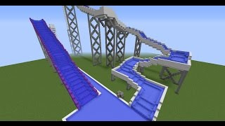 MINECRAFT - Giant waterslide