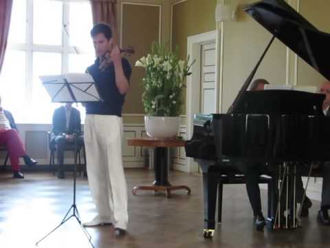 Charlie Siem performing the 1st Movement of the Kreutzer Sonata