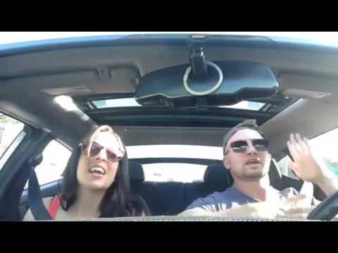 Hotties Doing Carpool Karaoke  'Love is an Open Door' in Tampa