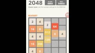 как пройти игру 2048 за 5 минут!!!