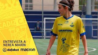 ¡Nerea Marín vuelve al Cádiz CF Femenino!