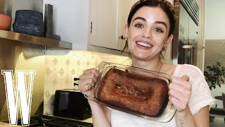 Baking Banana Bread #WithMe @Lucy Hale | W Magazine