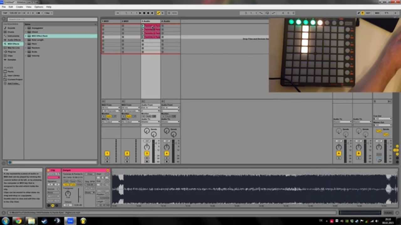 Cutting Songs Samples For Playing On A Launchpad Youtube