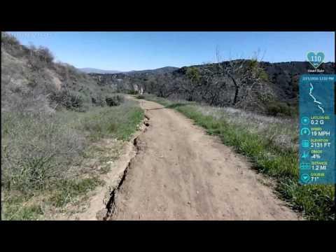 De Campos and East Canyon Trails plus bonus ties. #virbadventures
