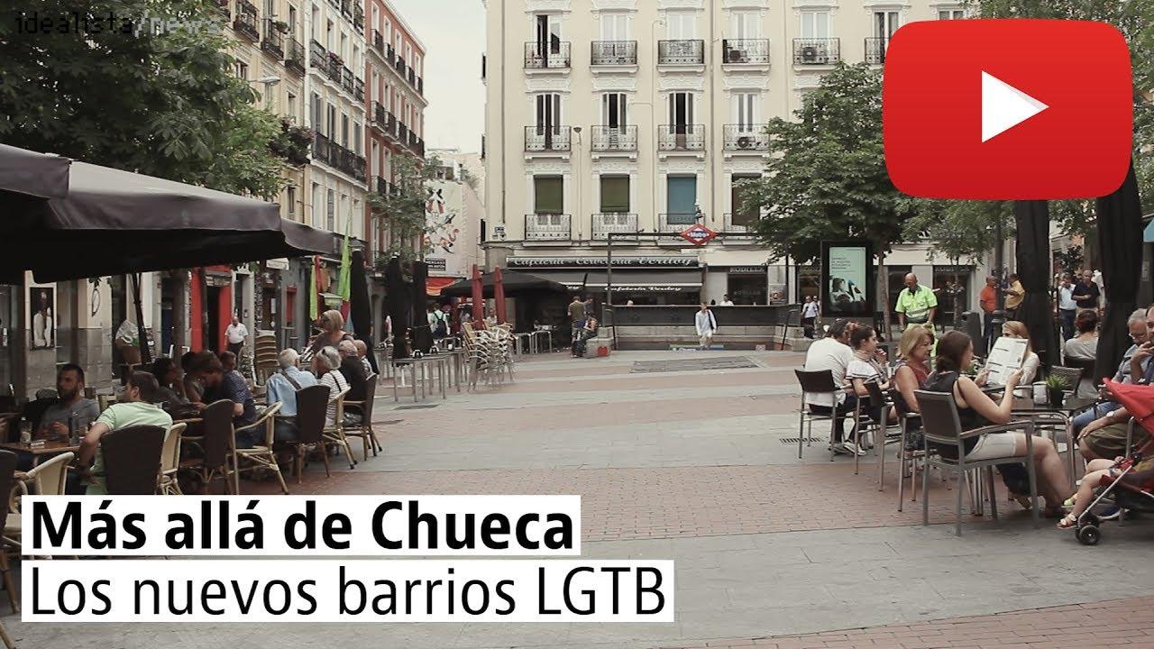 Lavapiés y Malasaña, los nuevos barrios LGTB en Madrid - YouTube