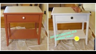 DIY - Bedside Table | Viviane Perpetuo