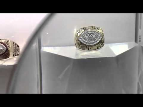 All the Superbowl rings