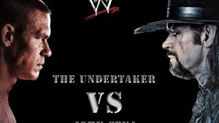 wwe smackdown john cena vs the undertaker