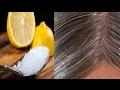 Hilangkan Uban dengan Cepat Dengan Minyak Kelapa dan Lemon
