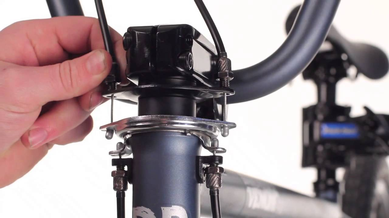 Diamondback Tech Bmx Gyro Brake Cable Installation And