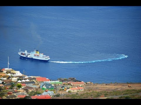 RMS St Helena Farewell from St Helena February 2018