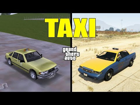 Evolution of TAXI in GTA games! |