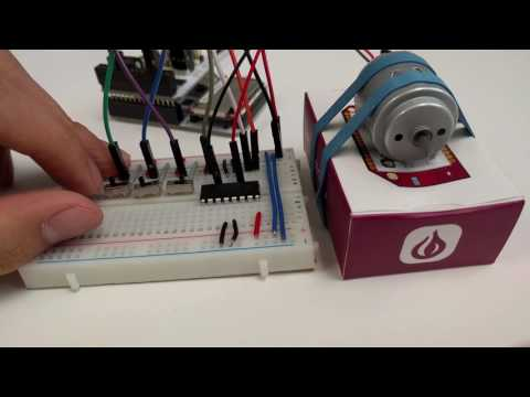 Controlling a DC Motor using an H-Bridge | Onion Omega2