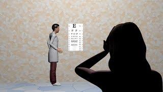 Visual acuity test- Snellen chart