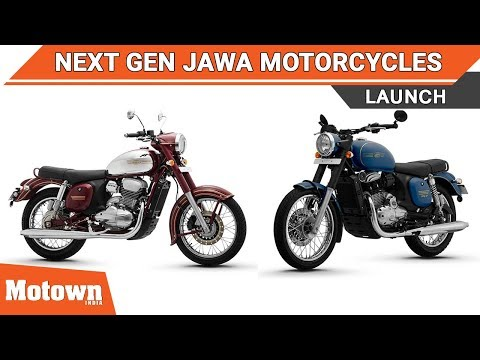 Next gen Jawa launch in Mumbai | Motown India