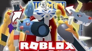 Digimon Aurity - DIGIVOLVING TO OMNIMON/OMEGAMON! (Roblox Gameplay)