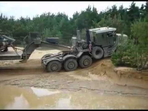 King Off Road Military Trailermov  YouTube