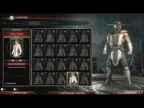 Mortal Kombat 11 : Kung Lao Character Customization / All Outfits & Gear