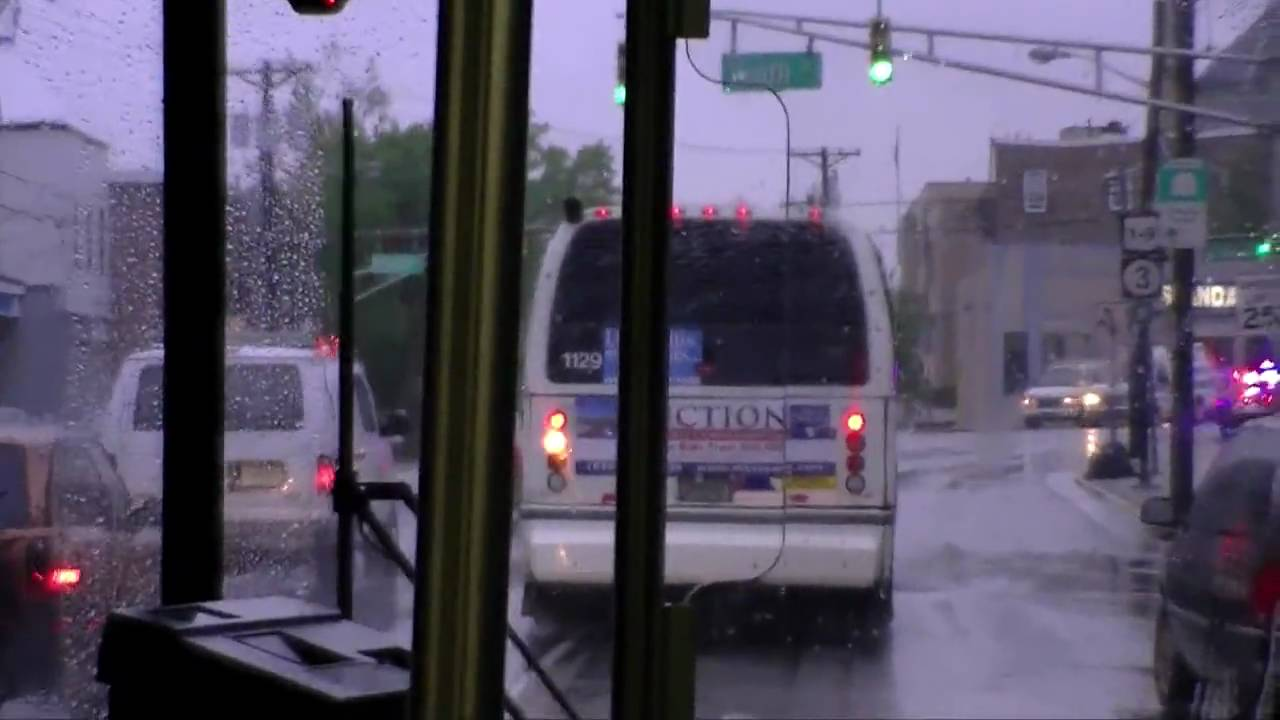 NJ Transit inside a NABI 416 Bus No  125