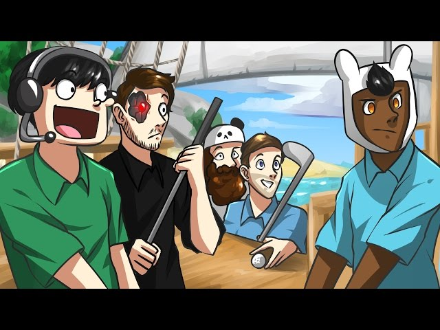 PIRATES IN PRACTICE! - Golf It