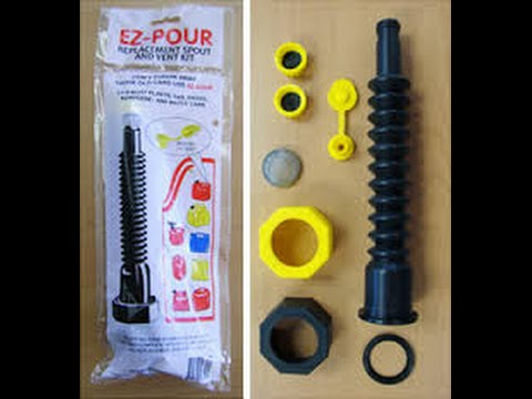 EZ-Pour Replacement Kit - Gas Can Rehab!