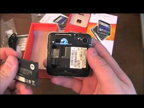 Motorola Flipout Unboxing