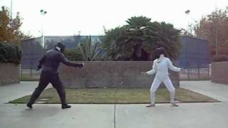 Fencing olympic-style