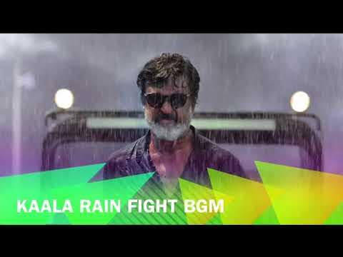 Kaala - Rain Fight BGM | Rajinikanth | Santhosh Narayanan
