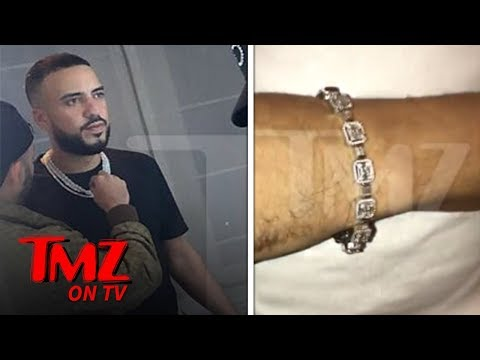 French Montana Drops $100,000 on Diamond Chains and Matching Bracelet | TMZ TV