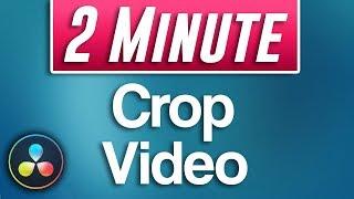 How to Crop Viḋeo in Davinci Resolve (Fast Tutorial)