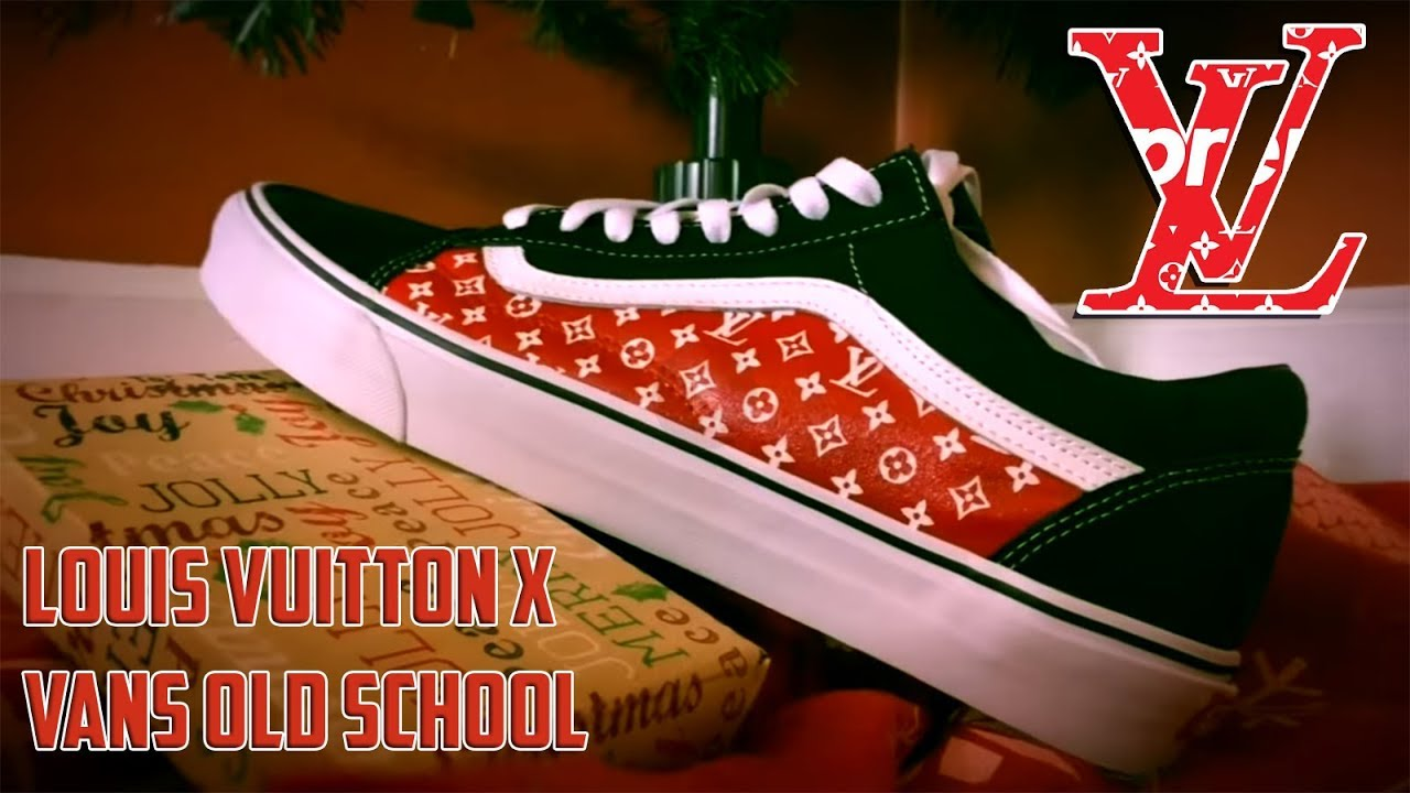 d12d281ee51 LOUIS VUITTON x VANS OLD SCHOOL - (Full Tutorial) - YouTube